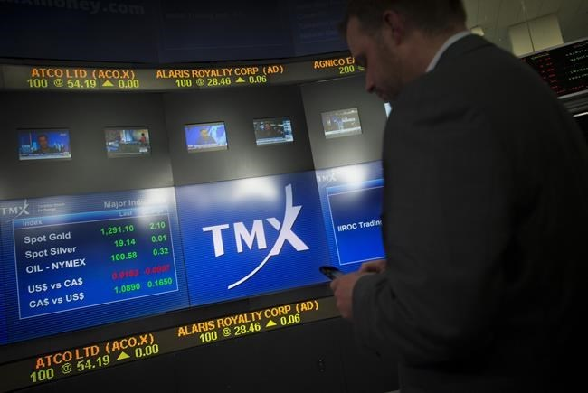 North American stock markets rebound from three-day losses; loonie falls