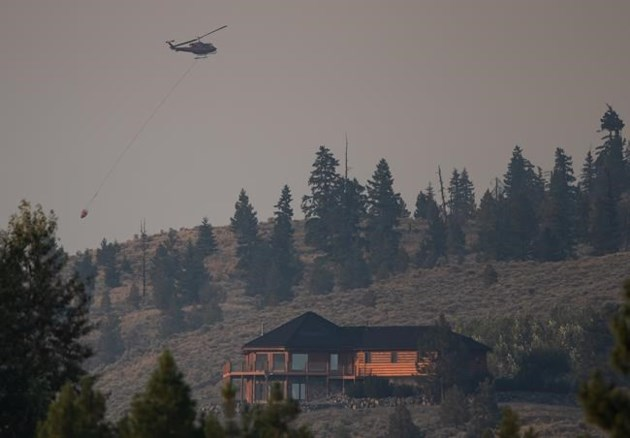 Wildfire devastates community of Monte Lake in B.C.'s southern Interior thumbnail