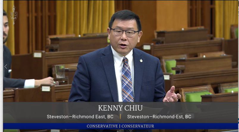 Steveston - Richmond East MP Kenny Chiu has drawn parallels between Richmond woman Christy Mahy's death and a shocking report that revealed thousands of criminals roaming free under the guise of refugee claimants
