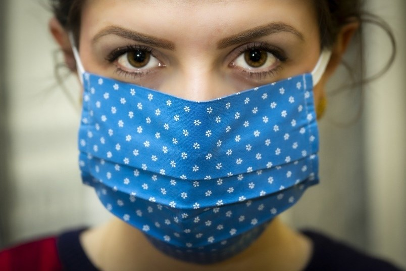 Double Up When Wearing Cloth Face Masks Public Health Advises