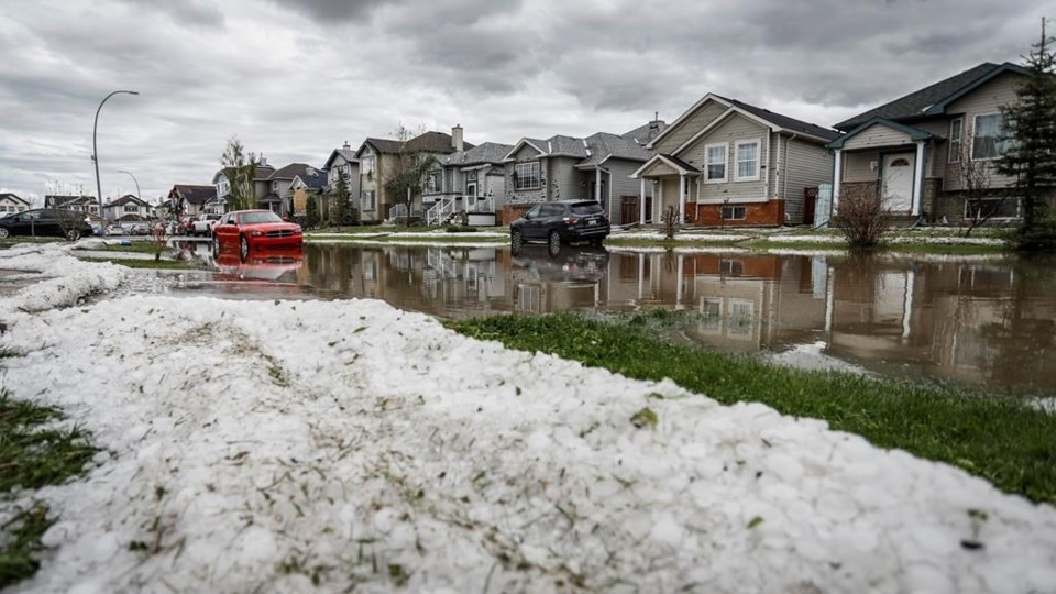 Victims Of Calgary Hailstorm Launch Convoy To Edmonton To Demand Provincial Aid Sootoday Com