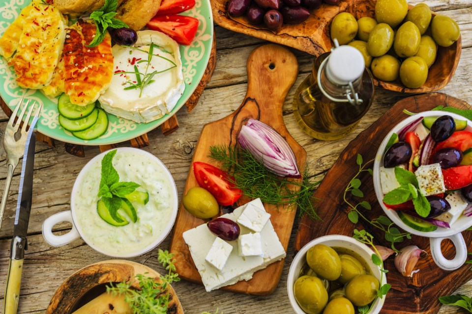 Greek food AdobeStock_85242794