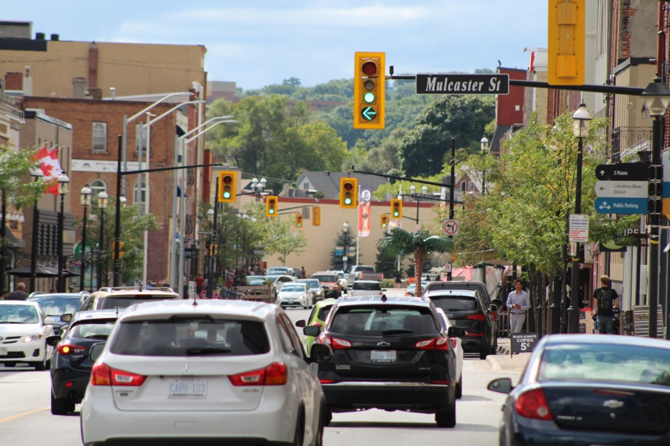Dunlop Street will be getting a facelift starting in September. Raymond Bowe/BarrieToday