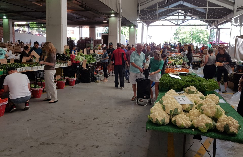 Farmer's Market in Kitchener