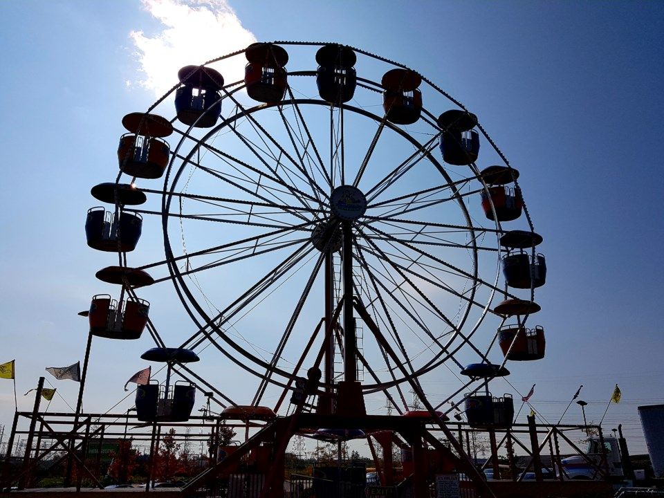 Ferris wheel Oct 10, 2018