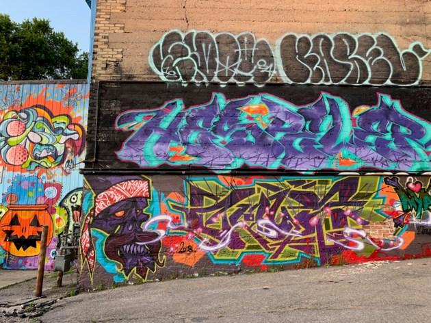 graffiti alley (August 4th, 2019)