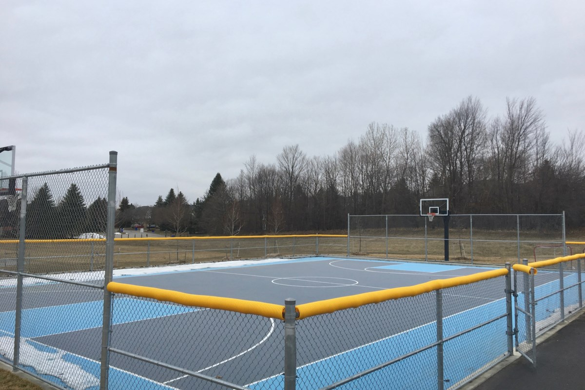 Teens On Still Closed Basketball Courts New Trend Newmarket Bylaw Newmarkettoday Ca