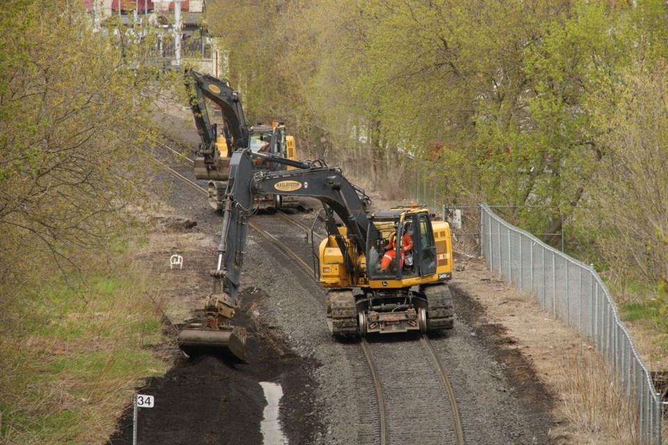 USED 2021 04 23 train track work GK