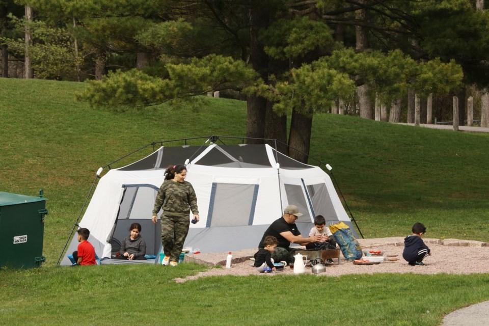 USED 2021 05 01 family picnic Fairy Lake
