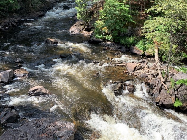 USED 2019-09-12goodmorningnorthbaybct  7 Eau Claire Gorge, Amable du Fond River.. Photo by Brenda Turl for BayToday.