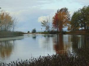 USED 2020-11-23goodmorningnorthbaybct  3 LaVase River. North Bay. Courtesy of Benoit Boudreau.
