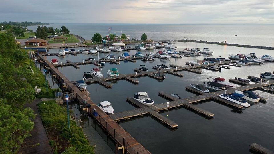 USED 2020-6-29goodmorningnorthbaybct  6 Marina. North Bay. Courtesy of Ryan J. Whittle.