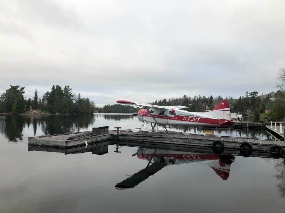 USED 2021-5-10goodmorningnorthbaybct  6 Ready for take off. Temagami. Courtesy of Sue Nielsen.
