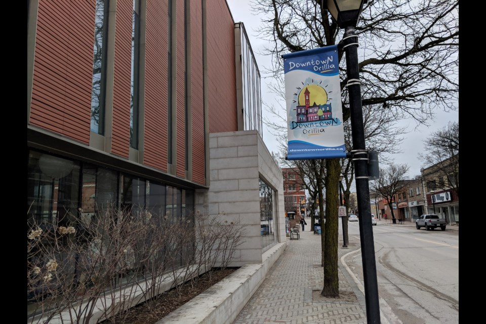 The Orillia Public Library is a downtown Orillia landmark, but there have been an escalating number of security concerns over the last several months, staff say. OrilliaMatters File Photo
