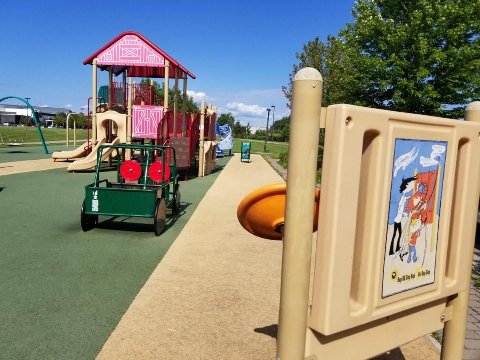 USED GM playground WOSC joella