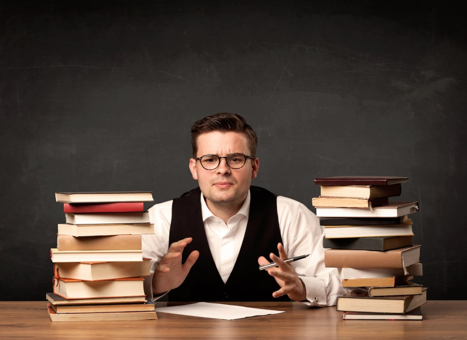 books man explain stock