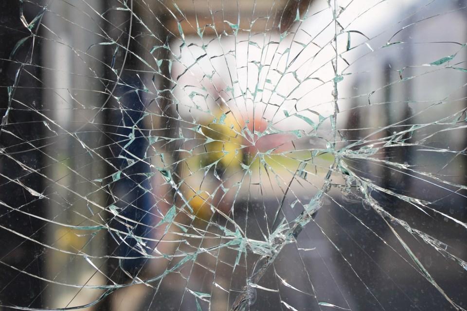 broken glass shutterstock