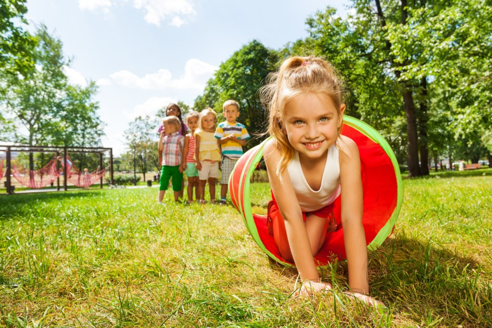 Children Playing Outside shutterstock
