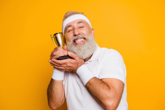 happy award winner AdobeStock_178646881