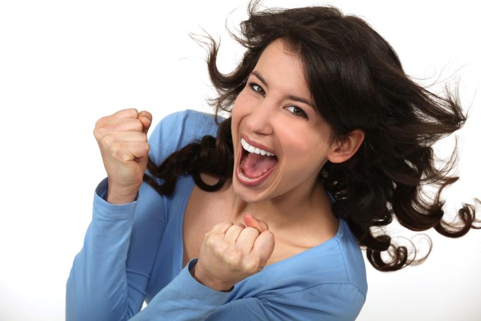 happy woman AdobeStock_49313880