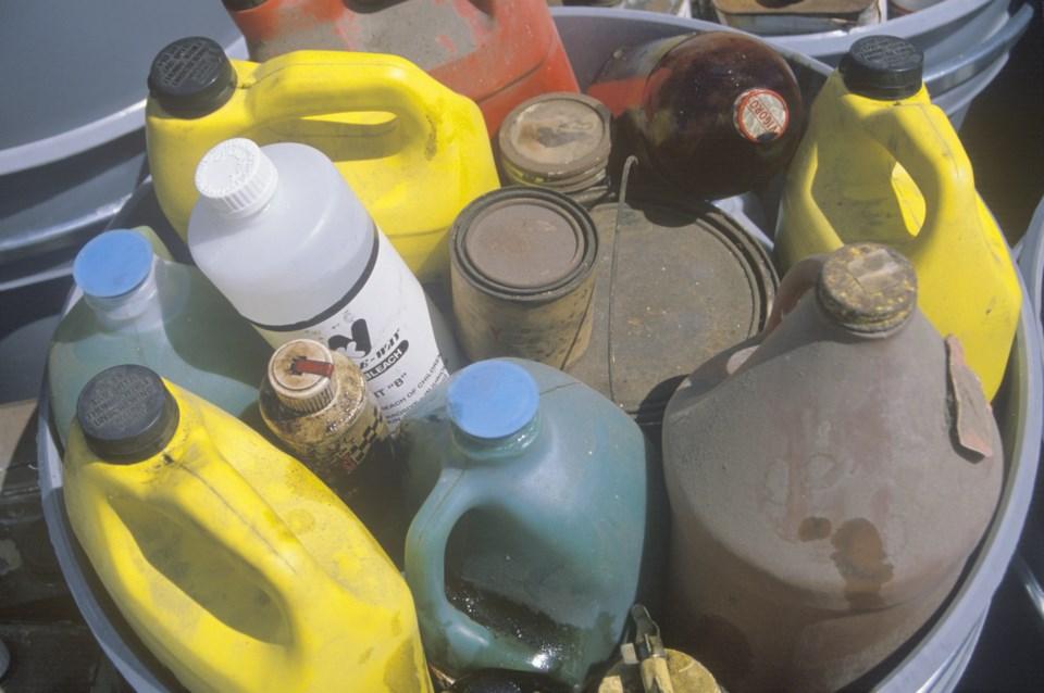 Household hazardous waste shutterstock