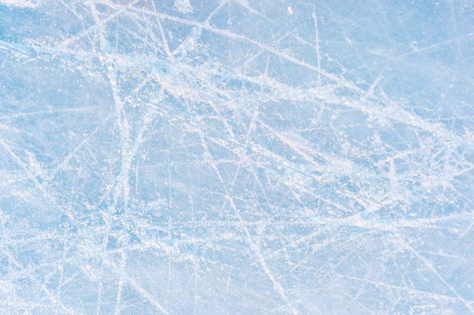 ice rink stock
