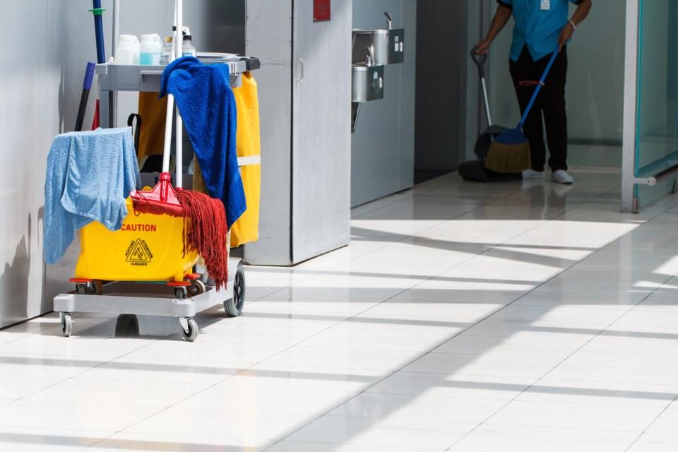 janitor AdobeStock_89671797