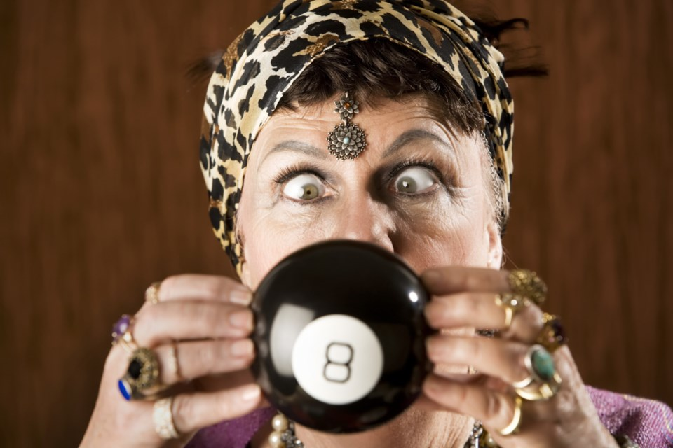 magic 8 ball fortun teller stock