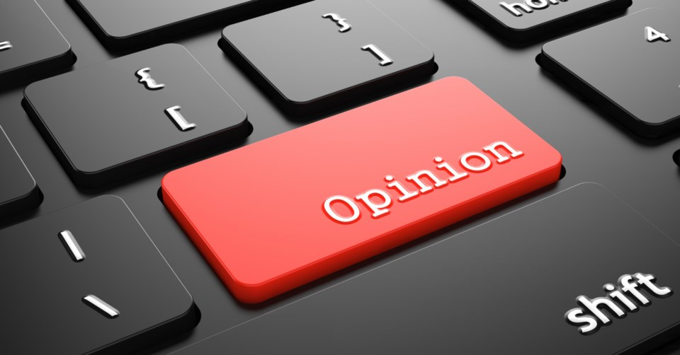 opinion editorial stock