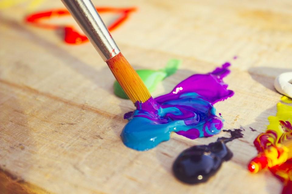 Painting art shutterstock