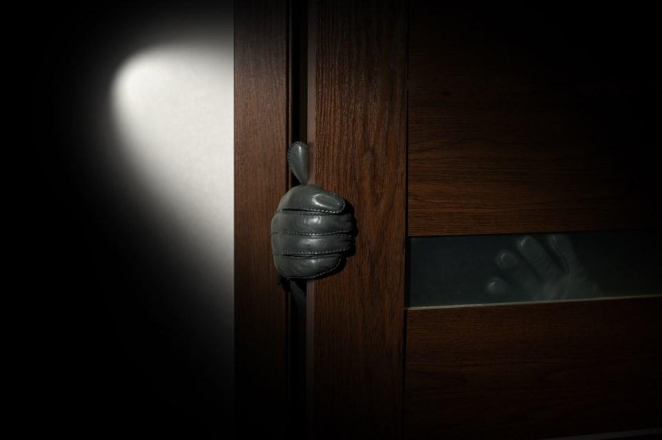 prowler break-in burglar night