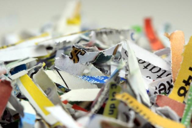 shredded paper AdobeStock_83890893
