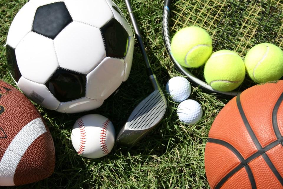 sports balls equipment