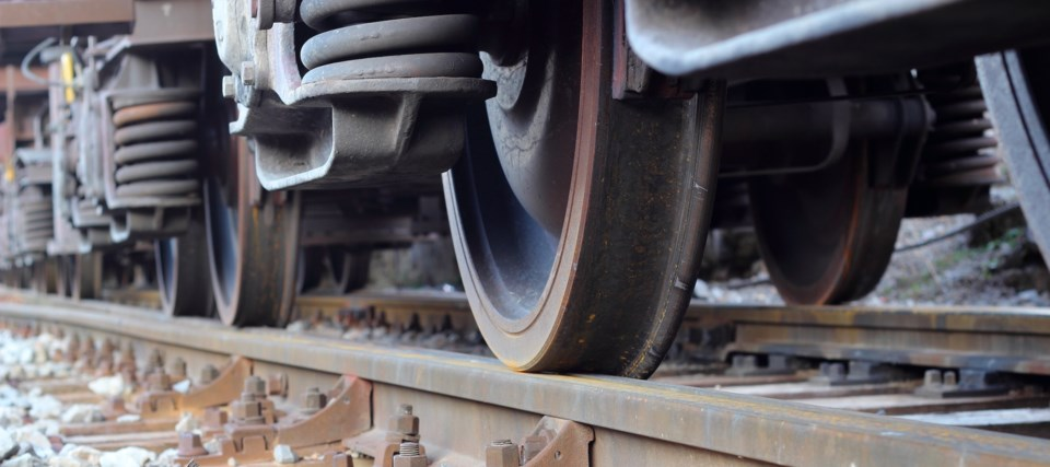 train wheels rail stock