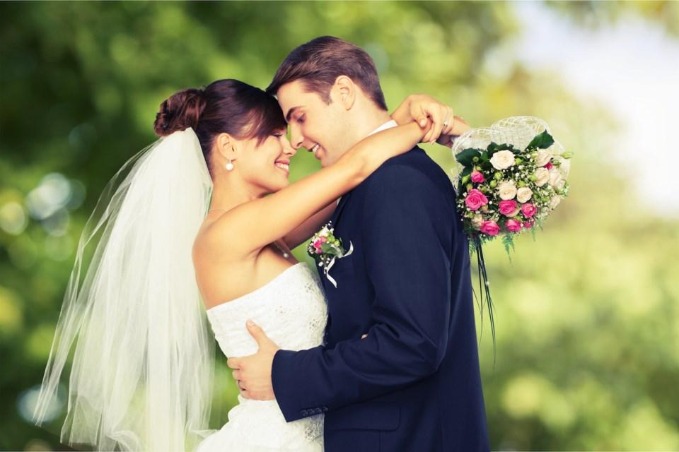 wedding marriage stock