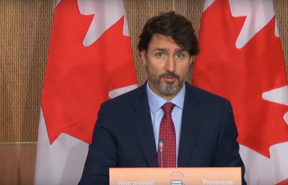 2020-10-02 Justin Trudeau livestream
