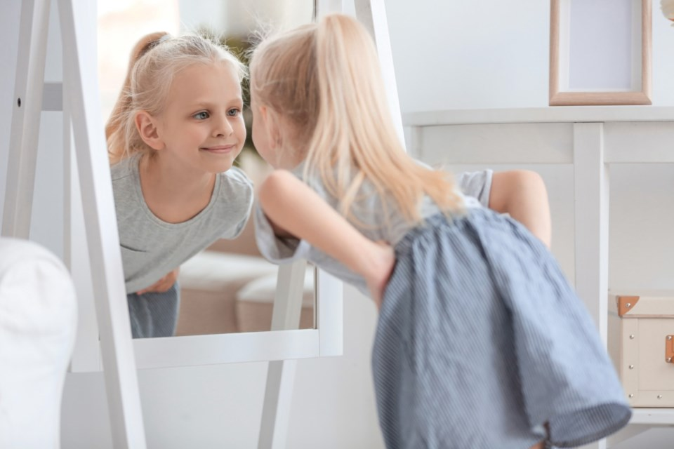 child and mirror 2