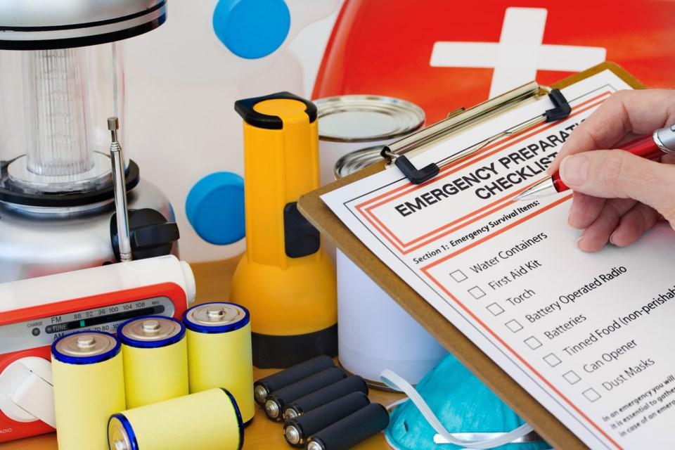 Emergency Preparedness Kit shutterstock