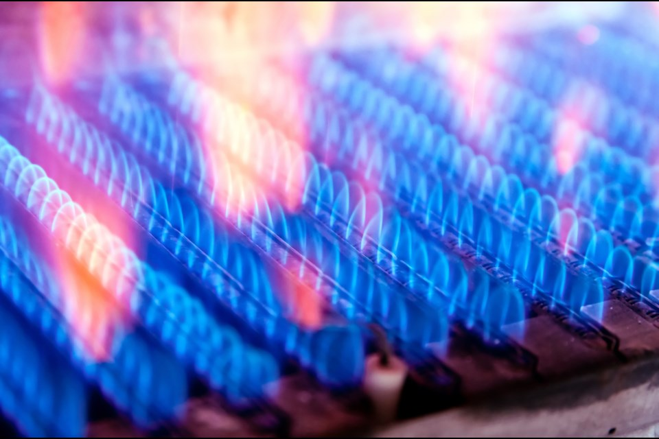 File photo shows gas heating element like those used in furnaces sold by Ontario Energy Group