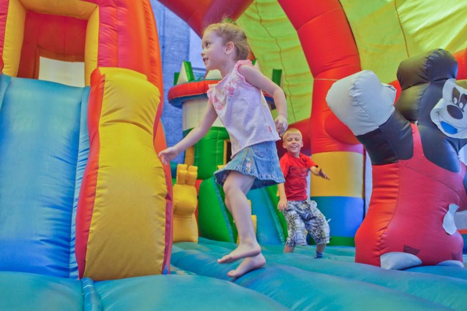 InflatableCastleShutterStock