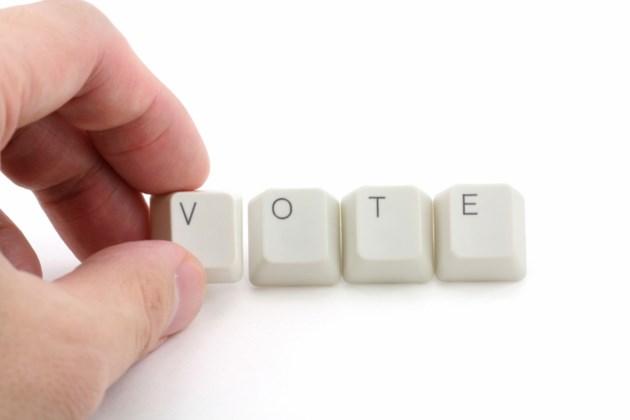 online voting stock