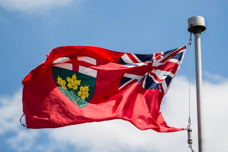 Ontario flag-1