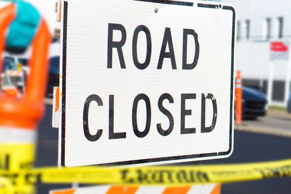 road closed AdobeStock