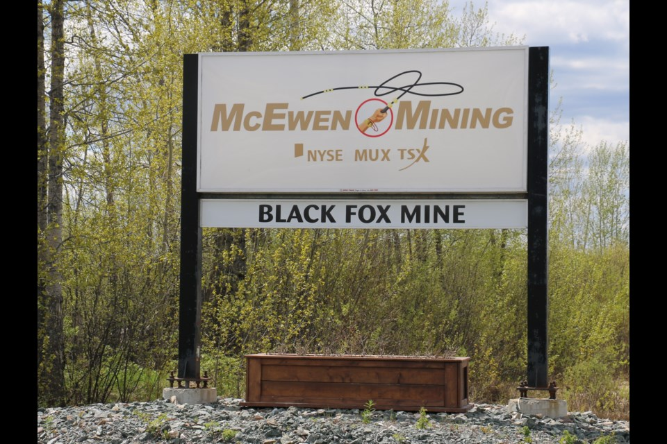 McEwen's Black Fox property just east of Matheson, Ontario