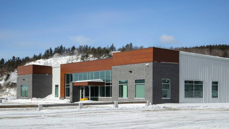 The newly built expansion at the NORCAT Underground Centre in Onaping, north of Sudbury, opened in January.