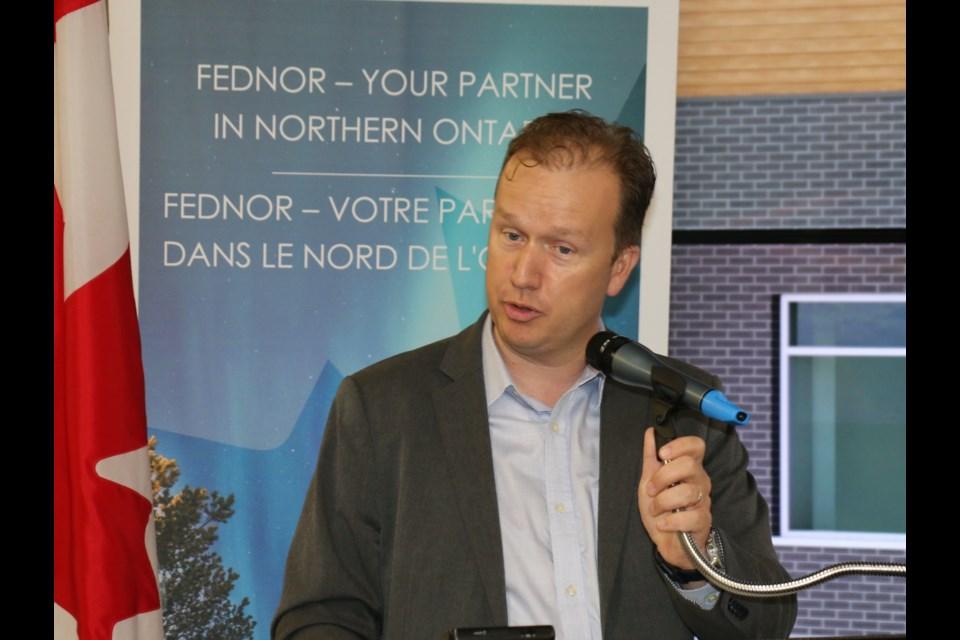 Sudbury MP Paul Lefebvre