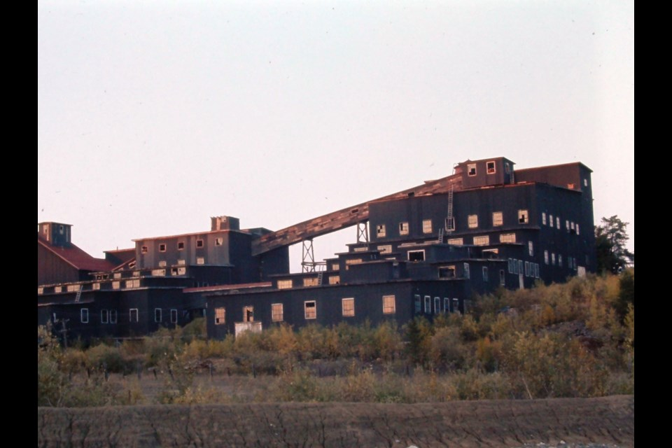 The old Paymaster mine (now demolished) that existed on Gold Mine Road in Timmins, Ontario. (Photo: Len Gillis)