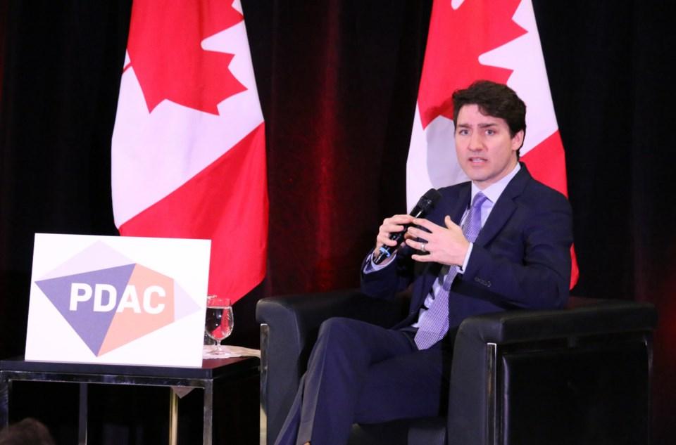 PDAC Trudeau1