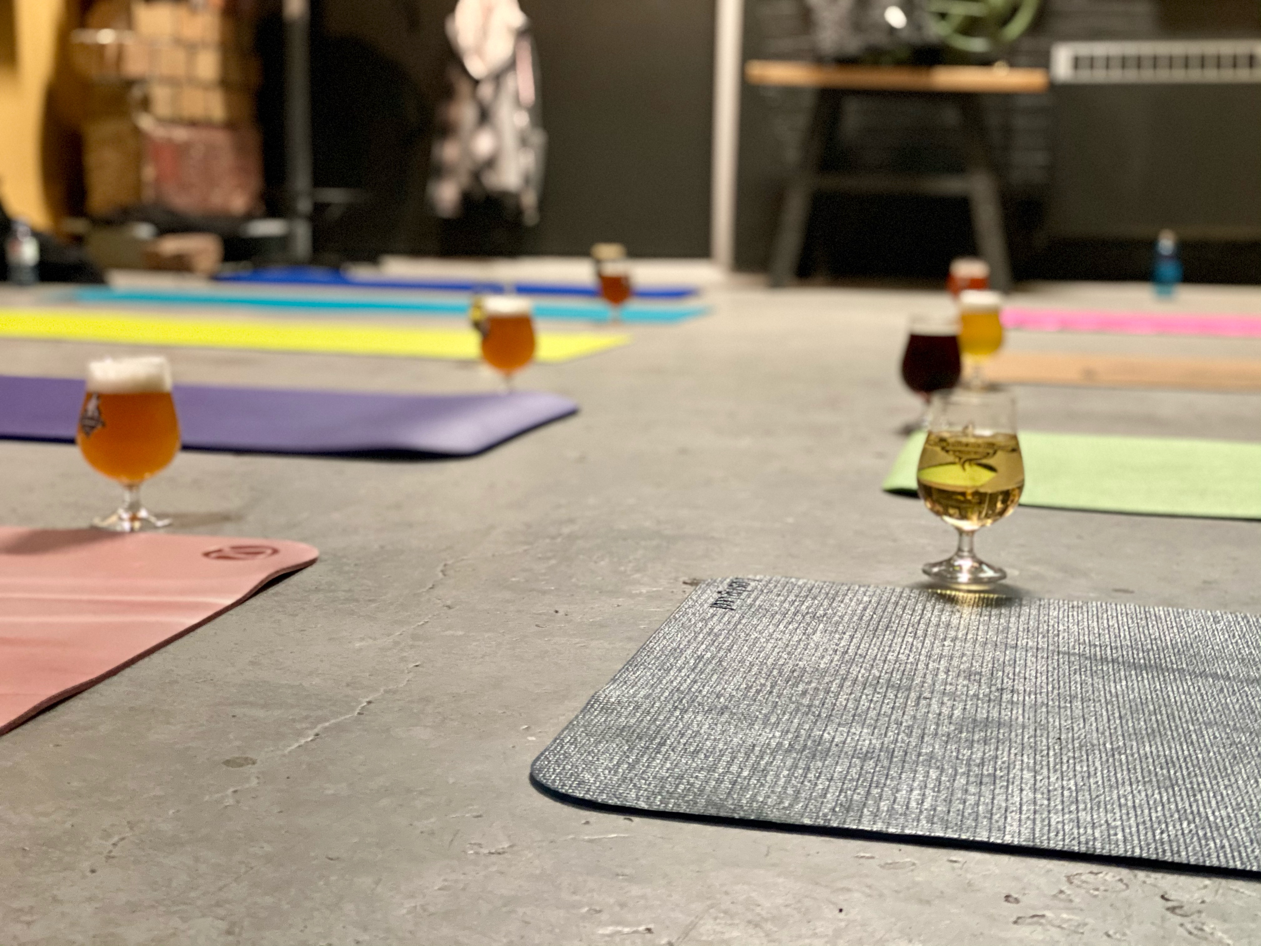 Photo of New beer-themed yoga class a hit with beginners, says instructor