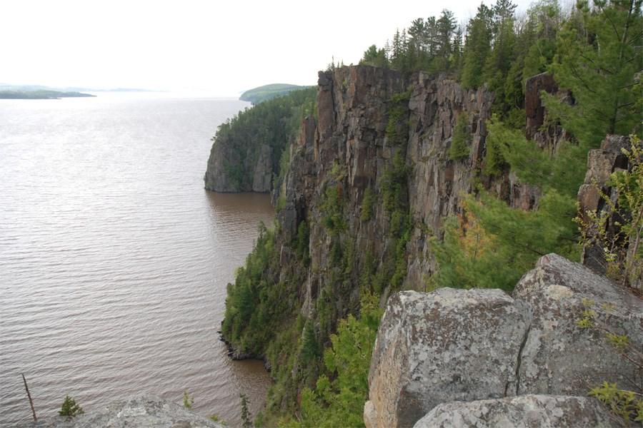 For three seasons the Devil's Rock vista rock face creates a number of moods. Bill Steer for Village Media